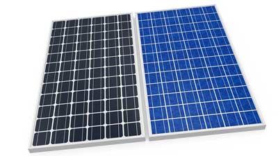 Wat zijn blauwe en zwarte PV-panelen?