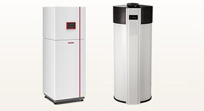 Combi warmtepomp - binnenunit met boiler