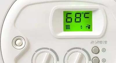 Temperatuur instellen van de cv-ketel