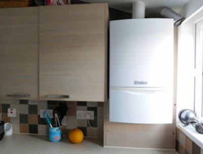 Cv-ketel in de keuken installeren