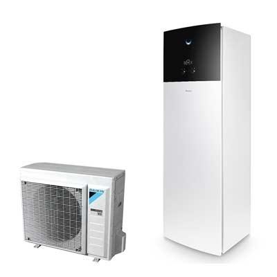Daikin warmtepomp geschikt voor radiatoren