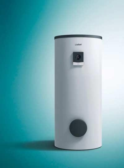 Externe boiler voor extra warm water