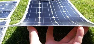 Hoeveel kg weegt een dunne film zonnepaneel?