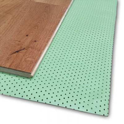 Laminaatvloer isoleren met ondervloer