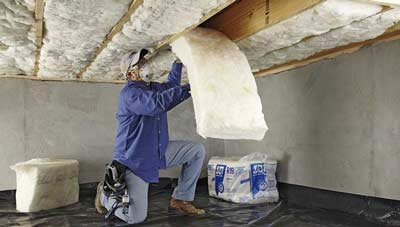 Warmteverlies verkleinen met vloerisolatie onder een laminaatvloer