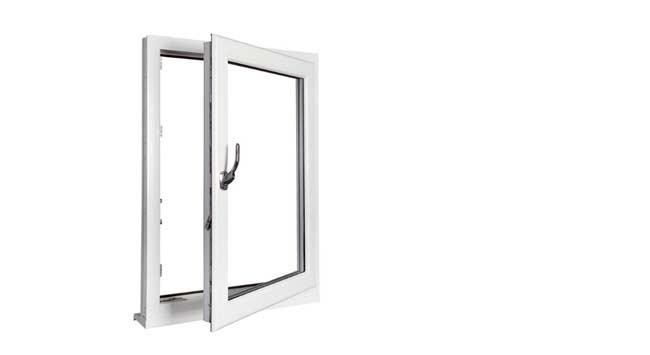 Kunststof draai/kiepramen voor ventilatie en veiligheid