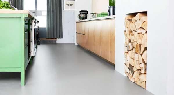 Linoleum en marmoleum op vloerverwarming