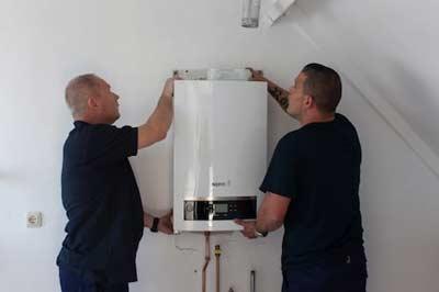 Installeren van een cv-ketel