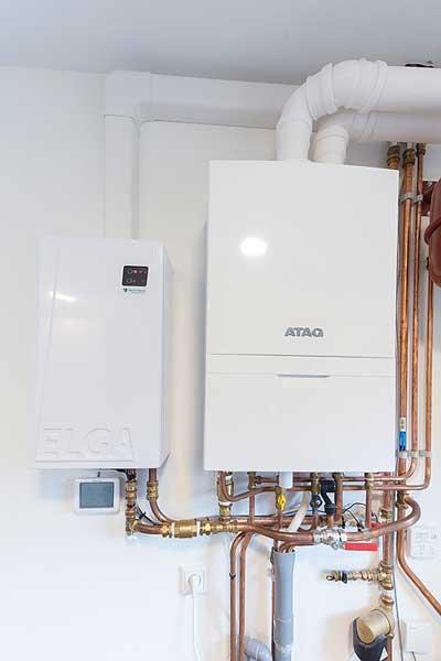 Hybride warmtepomp - HR ketel installatie