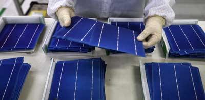 Polykristallijn zonnepanelen maken