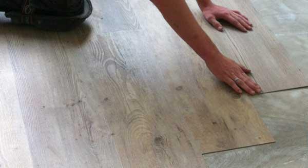 PVC vloer laten leggen op vloerverwarming