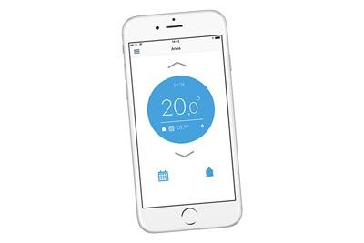 Je slimme boiler bedienen met app