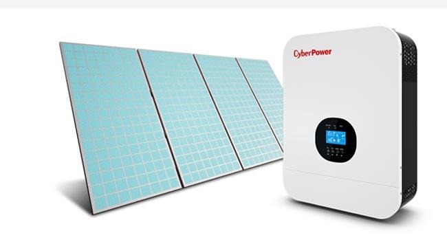 Stringomvormer voor omzetten van zonnepanelen stroom