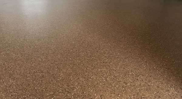 Troffelvloer leggen op vloerverwarming