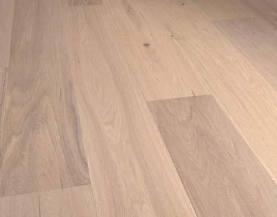 Voorbeeld van een houten parketvloer
