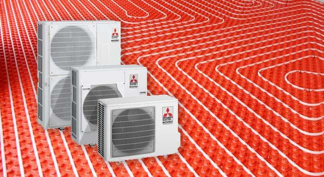 Warmtepomp samen laten werken met watergedragen vloerverwarming
