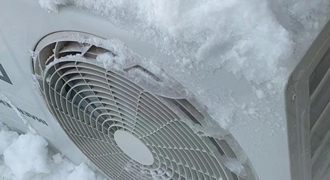 Warmtepomp in de winter gebruiken